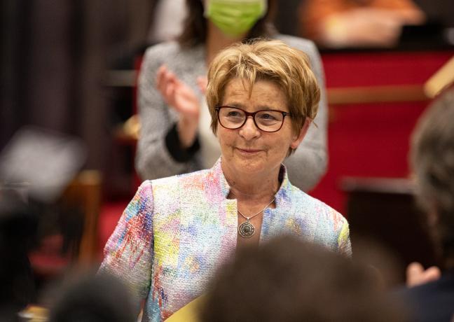 Réélection de Marie-Guite Dufay