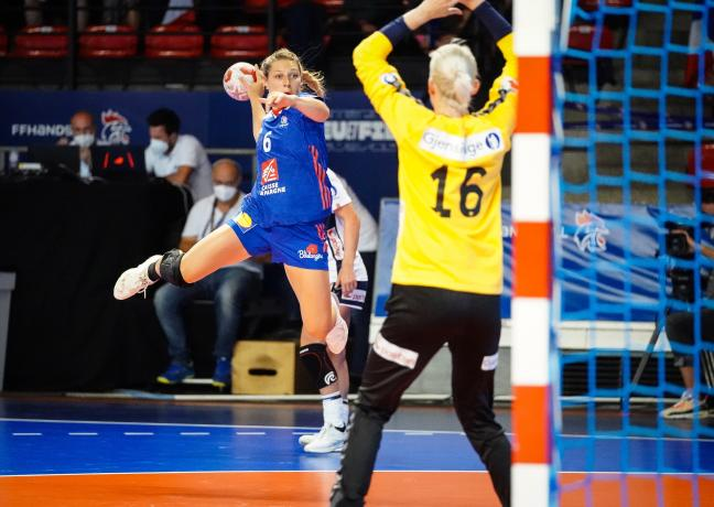 Chloé Valentini © FF Handball - Icon Sport