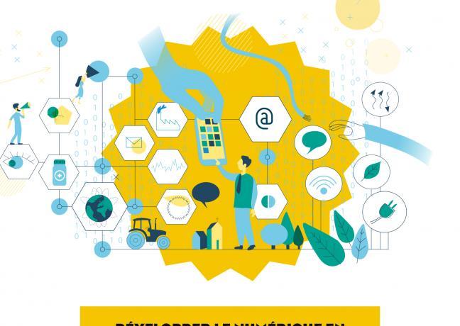 Développer le numérique en Bourgogne-Franche-Comté des aides pour accompagner les territoires - Édition 2021