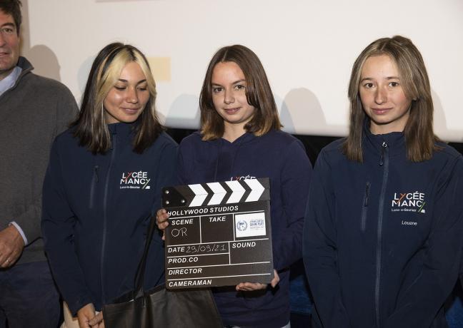 Cérémonie de remise des prix du concours « Je filme le métier qui me plait », mercredi 29 septembre 2021 à Dijon - Photo Région Bourgogne-Franche-Comté David Cesbron