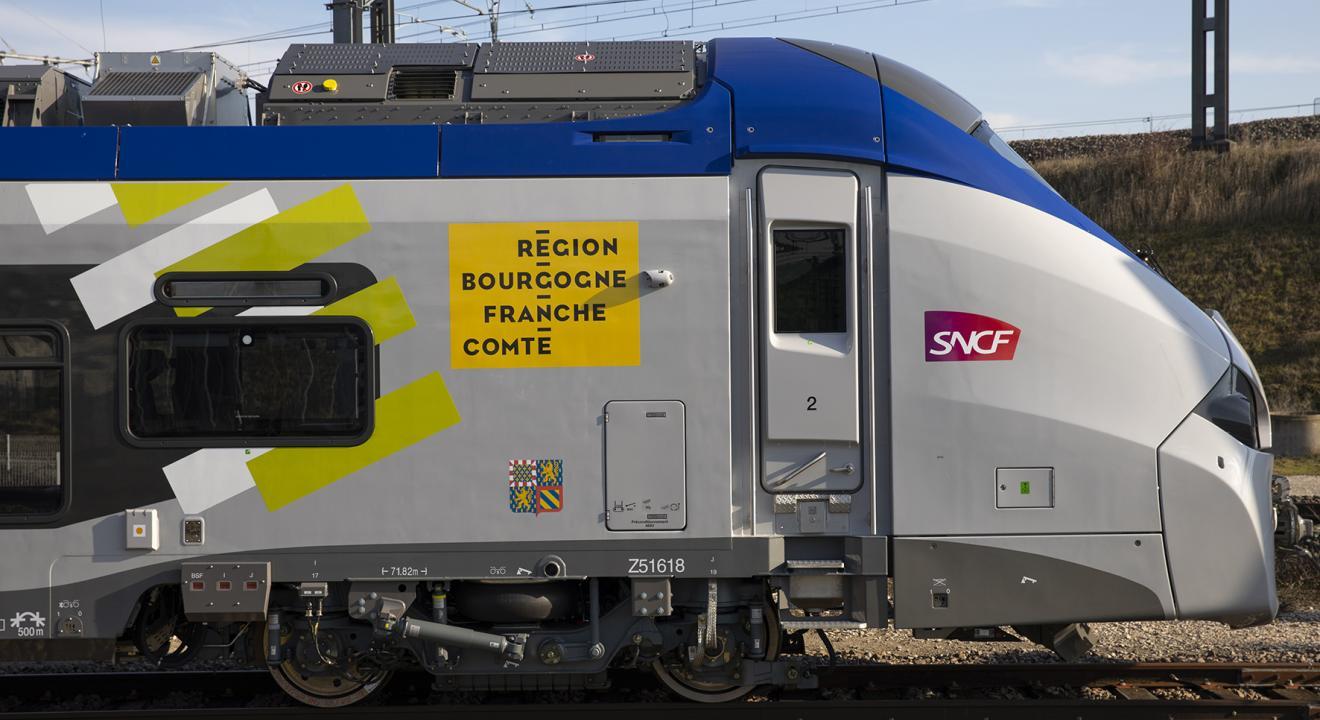 TER Région Bourgogne-Franche-Comté  - Crédit David Cesbron