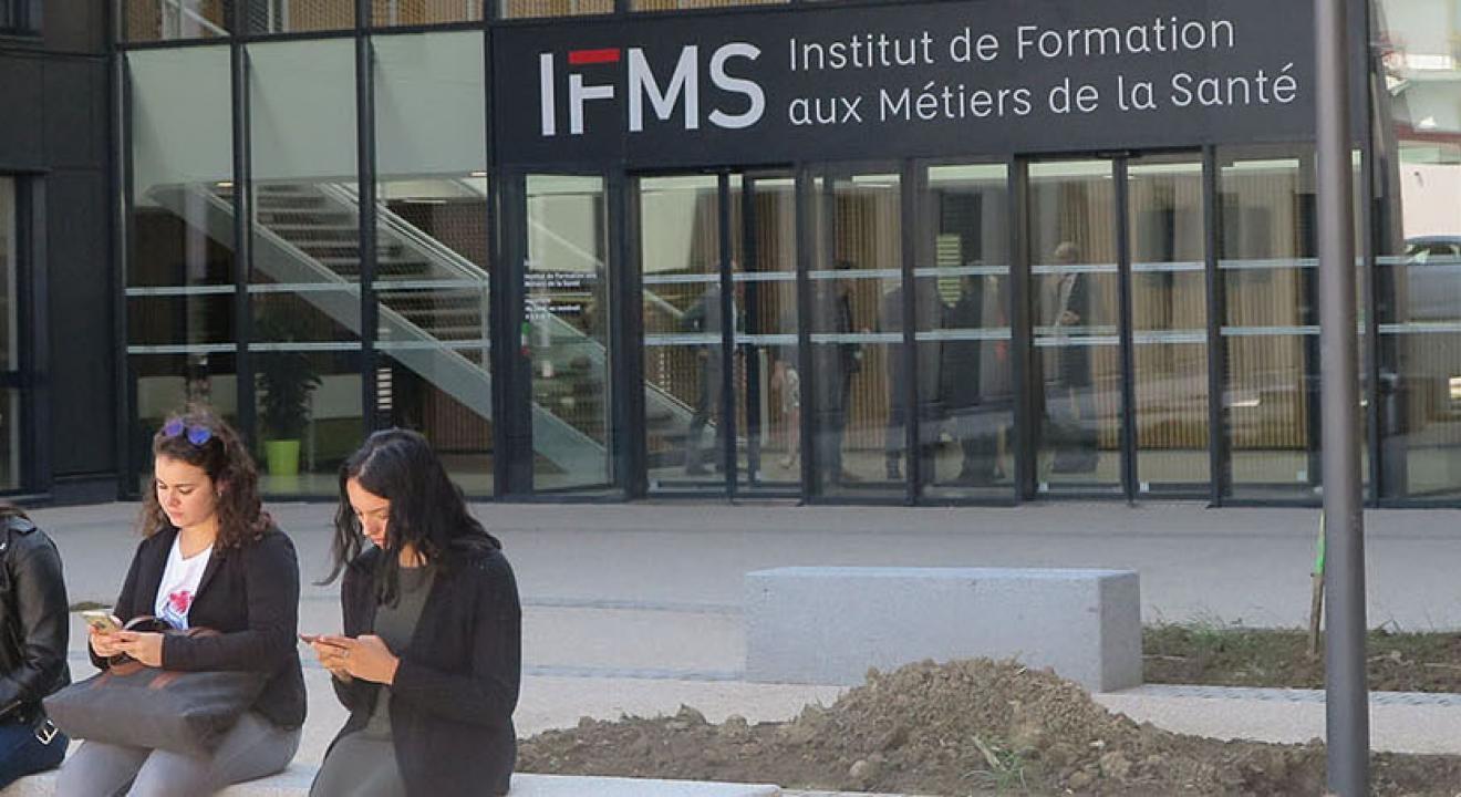 L'IFMS accueille depuis la rentrée 470 élèves infirmiers, 104 futurs aides-soignants et 130 étudiants en kinésithérapie - Photo DR