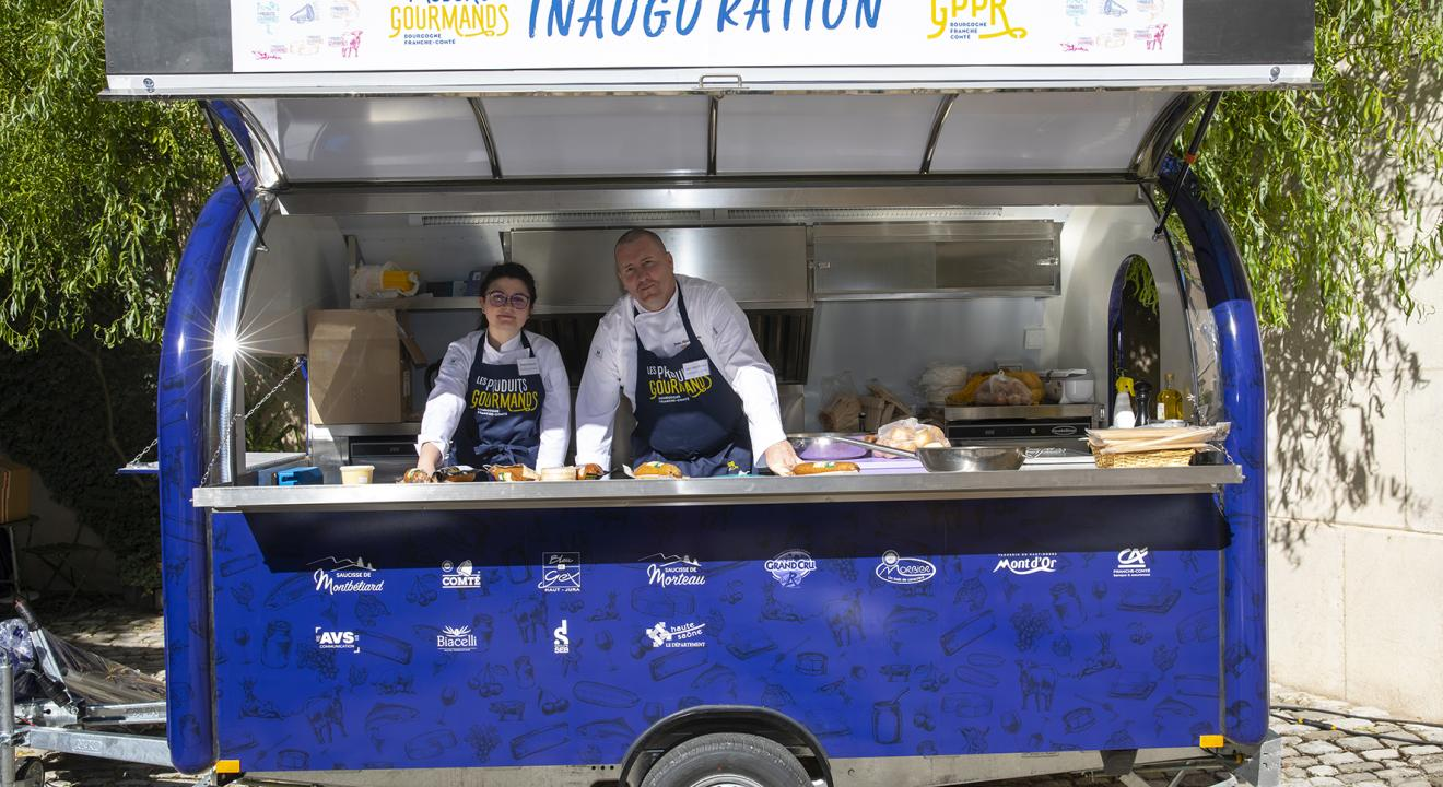 Food truck du GPPR - Photo David Cesbron