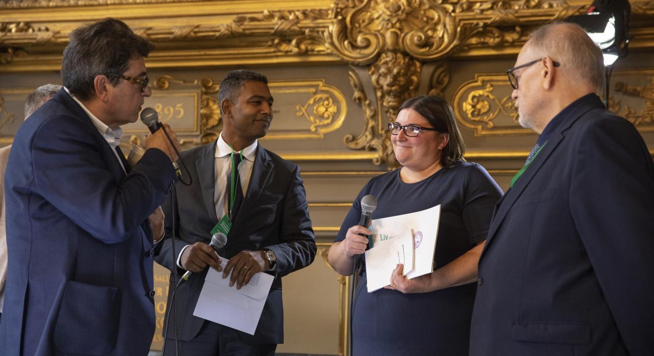 Remise du Prix de l'ESS à Dijon - Photo Région Bourgogne-Franche-Comté David Cesbron